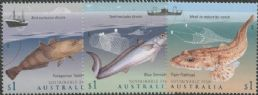 AUS 14/03/2019 Sustainable Fish set of 3